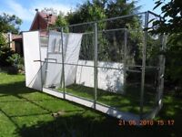 ALUMINIUM FRAMED AVIARY