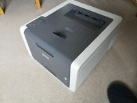 Brother HL-3140CW Wireless printer with ink - Spares or repair