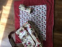 Cath Kidson cowboy bag and blanket.