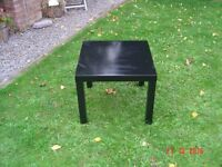 Black Square Coffee Table / Side Table. Can Deliver.