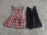 GIRLS DRESSES AGE 3 - 4 YEARS x 2