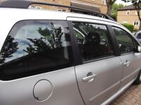 307 sw 2008 petrol auto 7 seater estate fully serviced year MOT Tax £999 ONO 07510120534
