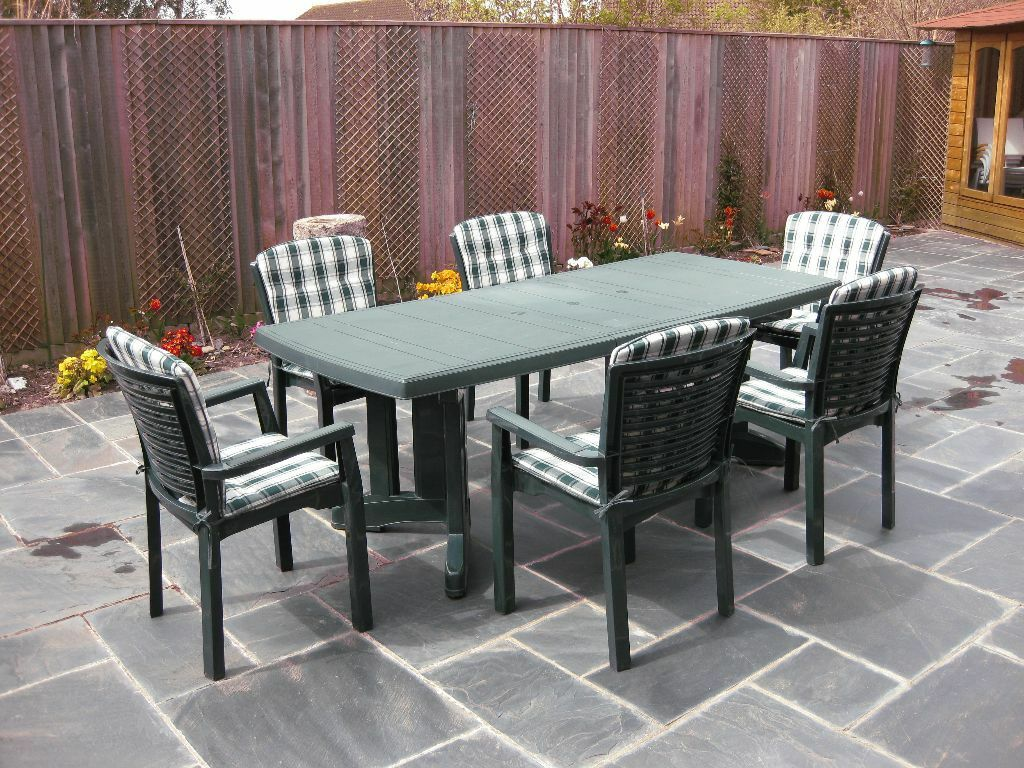 Sturdy quality patio furniture set by 39 lawn comfort 39 in for Quality patio furniture