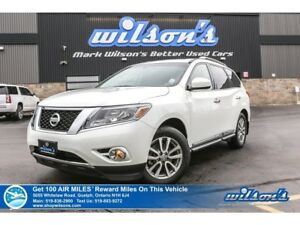 2015 Nissan Pathfinder SL TECH | 4X4 | LEATHER | NAVIGATION | SU