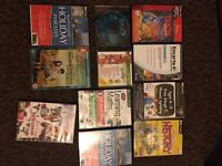 Bundle of learning and entertainment DVDs