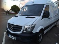 2014 MERCEDES SPRINTER LWB. FULL SERVICE HISTORY. E/W. 52000 WARRANTED MILES. MERC WARRANTY. NO VAT