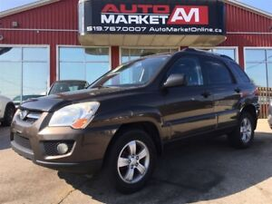 2009 Kia Sportage LX-V6, Leather, AWD, WE APPROVE ALL CREDIT