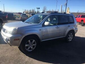 2006 Nissan X-Trail XE, LEATHER, SUNROOF, HEATED SEATS