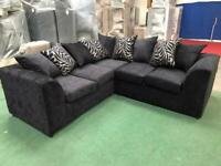 Brand new corner sofas free footstool free delivery