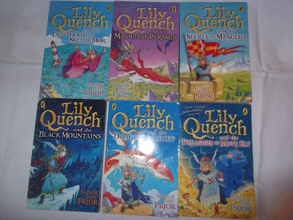 Children's Books - 6 x Lily Quench Books | in Inverness ...
