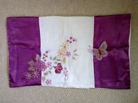 Pretty small pillow case........butterfly