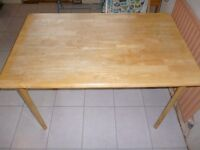 Wooden dining table/ kitchen table