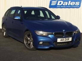 BMW 3 Series 320d M Sport 5dr (blue) 2013