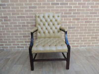 Grand Huge Chesterfield Armchair (UK Delivery)