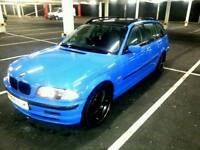 Bmw e46 320 touring start and drive got mot logbook clean hpi no have eny problem