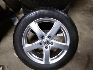"17"" WINTER PACKAGE (TOYOTA,KIA, MAZDA, HONDA) WINTER PACKAGE 5X114.3  RIMS, 225/55R17 SAILUN ICE BLAZZER USED for sale"