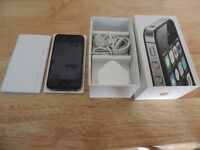 Apple iphone 4s 16gb boxed on 02