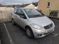 2006 Mercedes A Class A150, 6 Speed Manual.