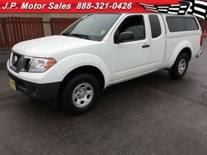 2014 Nissan Frontier S, Extended Cab, Steering Wheel Controls