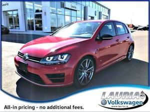 2017 Volkswagen Golf R 2.0 TSI Auto - Navigation - AWESOME!