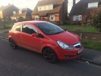 Vauxhall CORSA SXI 1.4 RED with BLACK alloys *GREAT CONDITION* 1 YEARS MOT (September 2018) 3 door