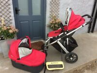 Uppababy Vista Pram, Push Chair & Buggy board