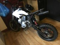 pitbike crosser scooter moped 140cc 50cc quad