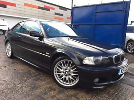 BMW 3 Series 2.5 325Ci M Sport Full Service History Cream Leather 3 Months Warranty LONG MOT