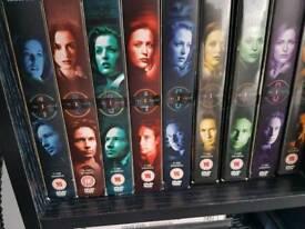 X files dvd box sets 1-9