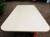 2 x HERMAN MILLER OFFICE MEETING TABLE / DESK WORK TOPS ONLY 2M x 1M (IDEAL MODEL RAILWAY BOARD)