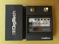 Digitech element XP multieffects with expression pedal for wahwah etc