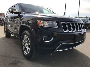 2016 Jeep Grand Cherokee Limited LTHR, REAR CAM, COMMAND START Regina Regina Area image 6