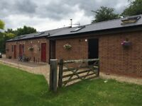 Double ensuite unit in converted barn