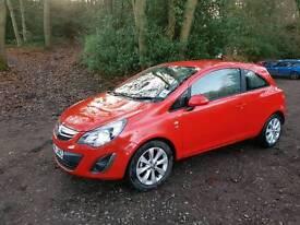 "2014 Vauxhall Corsa 1.2 VVT EXCITE 3 Door Hatchback "" low mileage only 9800 miles """