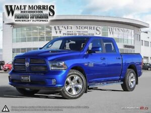 2015 Ram 1500 SPORT: LOCALLY OWNED, ONE OWNER