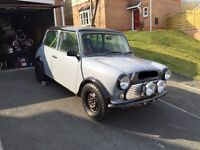 Classic mini rally track 1275 roll cage