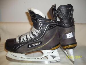 Junior Size 2 Skates (Bauer Supreme One70)