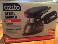 Ozito detail sander BRAND NEW!!!