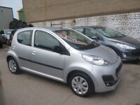 Great looking Peugeot 107 Active,5 door hatchback,2 lady owners,free road tax,only 29,500 miles