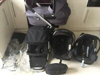 Excellent condition Quinny buzz travel system