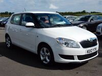 2012 skoda fabia 1.4 petrol with only 36000 miles, motd august 2018 lovely example