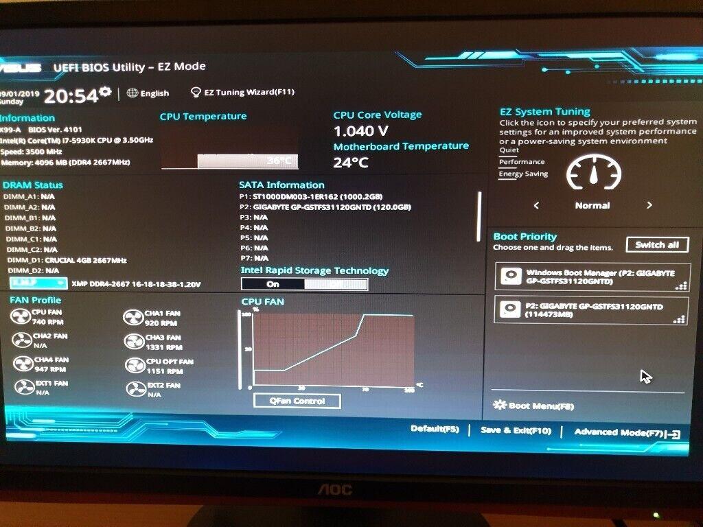 Desktop Computer - Intel® Core™ i7-5930K Processor | in Dundee | Gumtree