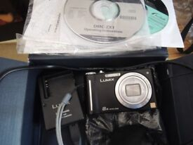 Panasonic Lumix DMC-ZX1 EB-K Digital Camera - Black (12.1MP, 8x Optical Zoom)
