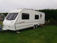 Ace Jubilee Equerry, Twin Axle 6 Berth 2006 Touring Caravan