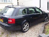 Audi A6, MOT Aug, £295 ono, 159k