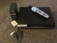 Sky+ HD box and router pk £40