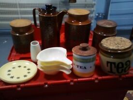 Huge Job Lot of 100+ Pieces of Vintage 1960s Ceramics and Pottery - Hornsea / T G Green etc