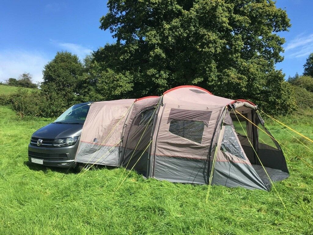 VW T Series Mercedes Vito Mazda Bongo Camper Van Outdoor Revolution Navigator Awning Tent