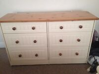 Dressing Table and Double Chest of Drawers