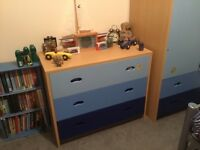 2 sets of Boy's bedroom furniture